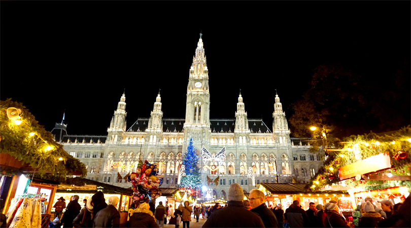 celebrate christmas in vienna