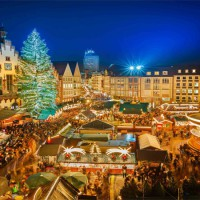 christmas market at rathaus