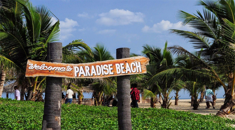 pondicherry paradise beach