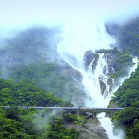 goa dudhsagar waterfall