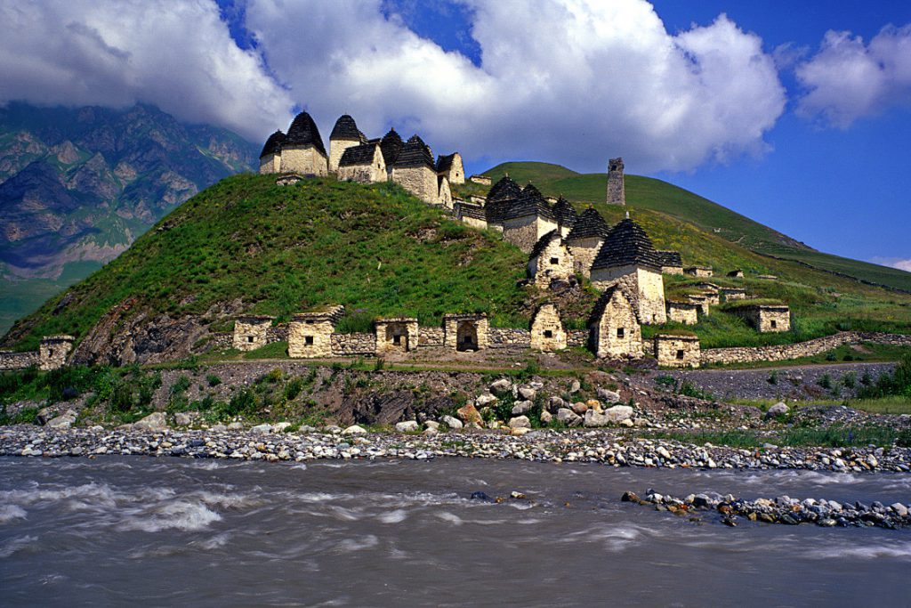 City of Dead in Northern Ossetia