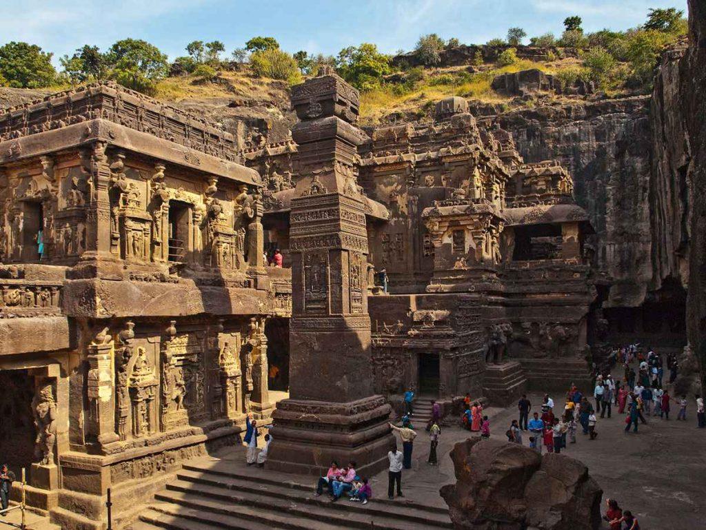 rock cut temples